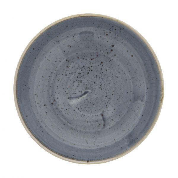 Churchill dyb tallerken Stonecast Blueberry blue 42,6 cl