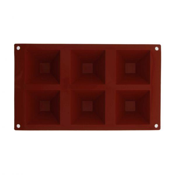 Thermohauser Silikoneform pyramider 7,1x7,1 cm