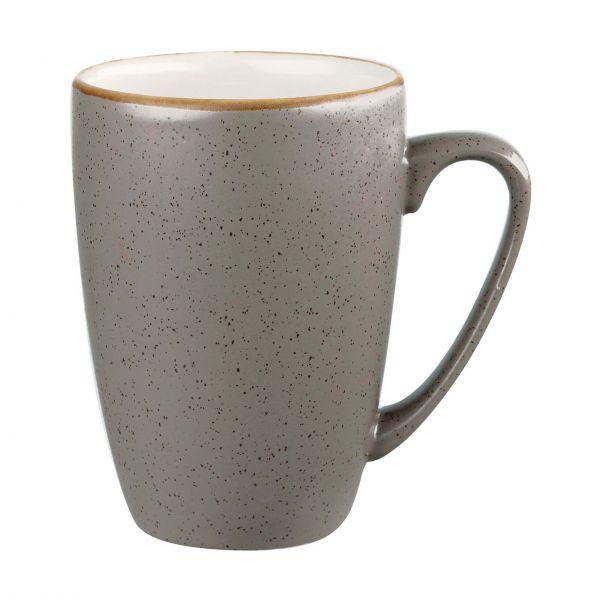 Churchill Kaffekrus Stonecast Peppercorn grey 34 cl