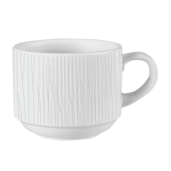Churchill Kaffekop Bamboo hvid 22 cl