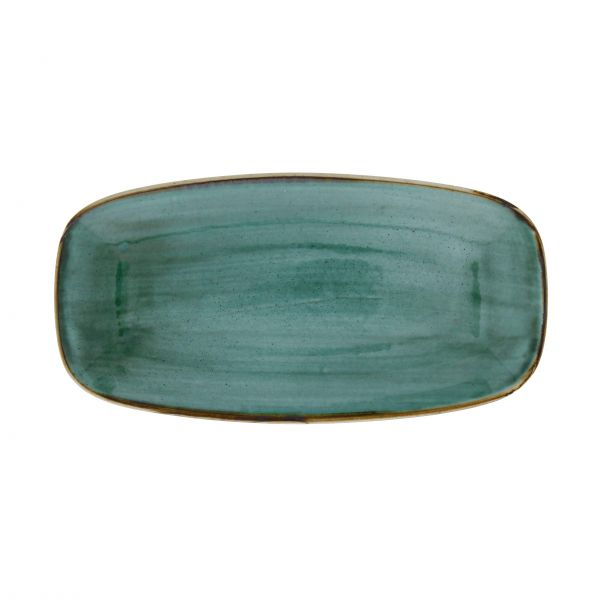 Churchill Tallerken Stonecast Samphire green 29,8 x 15,3 cm