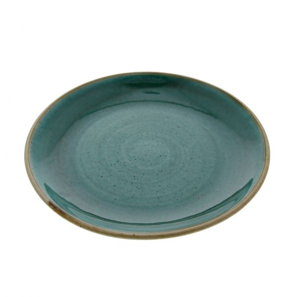 Churchill Tallerken Stonecast Samphire green dyb 113,6 cl