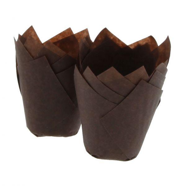 Muffinforme mini tulipan 300 stk