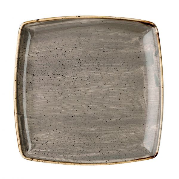 Churchill Tallerken Stonecast Peppercorn grey 26,8 x 26,8 cm