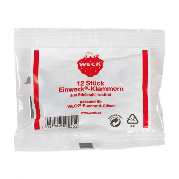 Weck gummipakning Ø 8 - Ø 12 cm