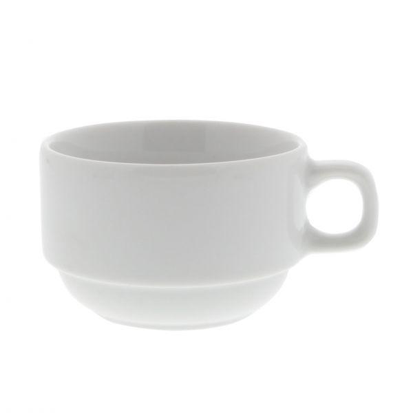 Base Elements kaffekop Kim hvid 18 cl