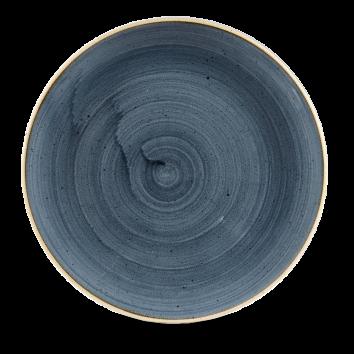 Churchill Tallerken Stonecast Blueberry Blue