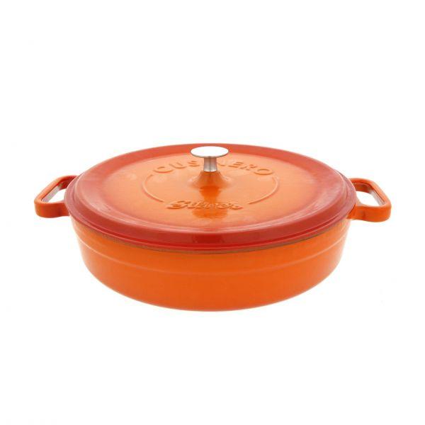 Silver Støbejernsgryde orange 3,4 L