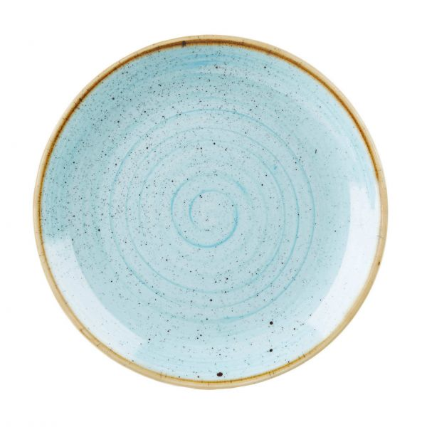 Churchill Tallerken Stonecast Duck egg blue Ø 26 cm