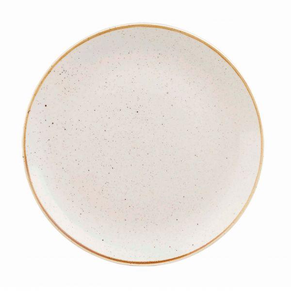 Churchill Tallerken Stonecast Barley white 26 cm
