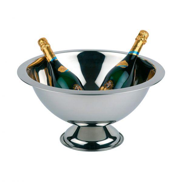 APS Champagnekøler 12 l, Ø 45 cm højglanspoleret rustfrit stål