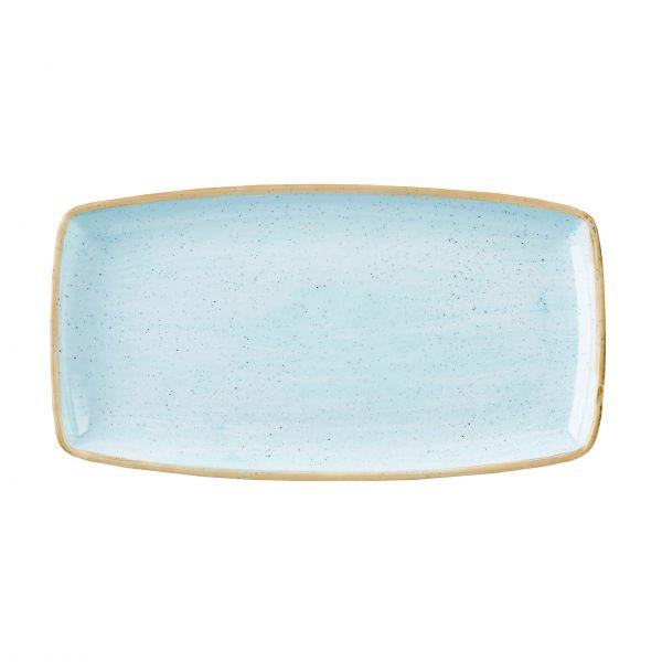 Churchill Tallerken Stonecast Duck egg blue, rektangulær