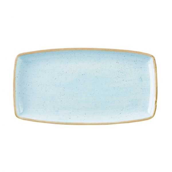 Churchill Tallerken Stonecast Duck egg blue 29,5 x 15 cm