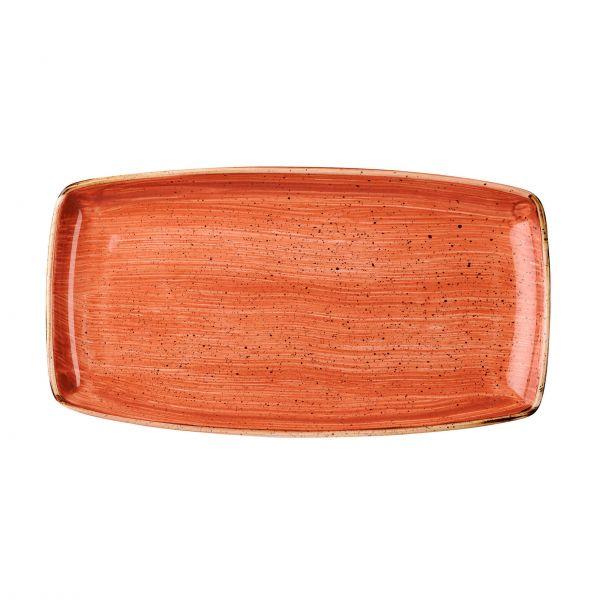 Churchill Tallerken Stonecast Spiced orange 29,5 x 15 cm