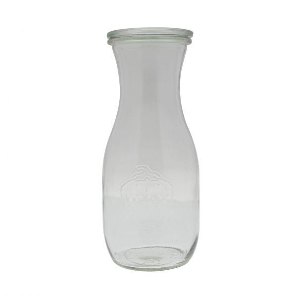 Weck saft/dressingflaske med låg