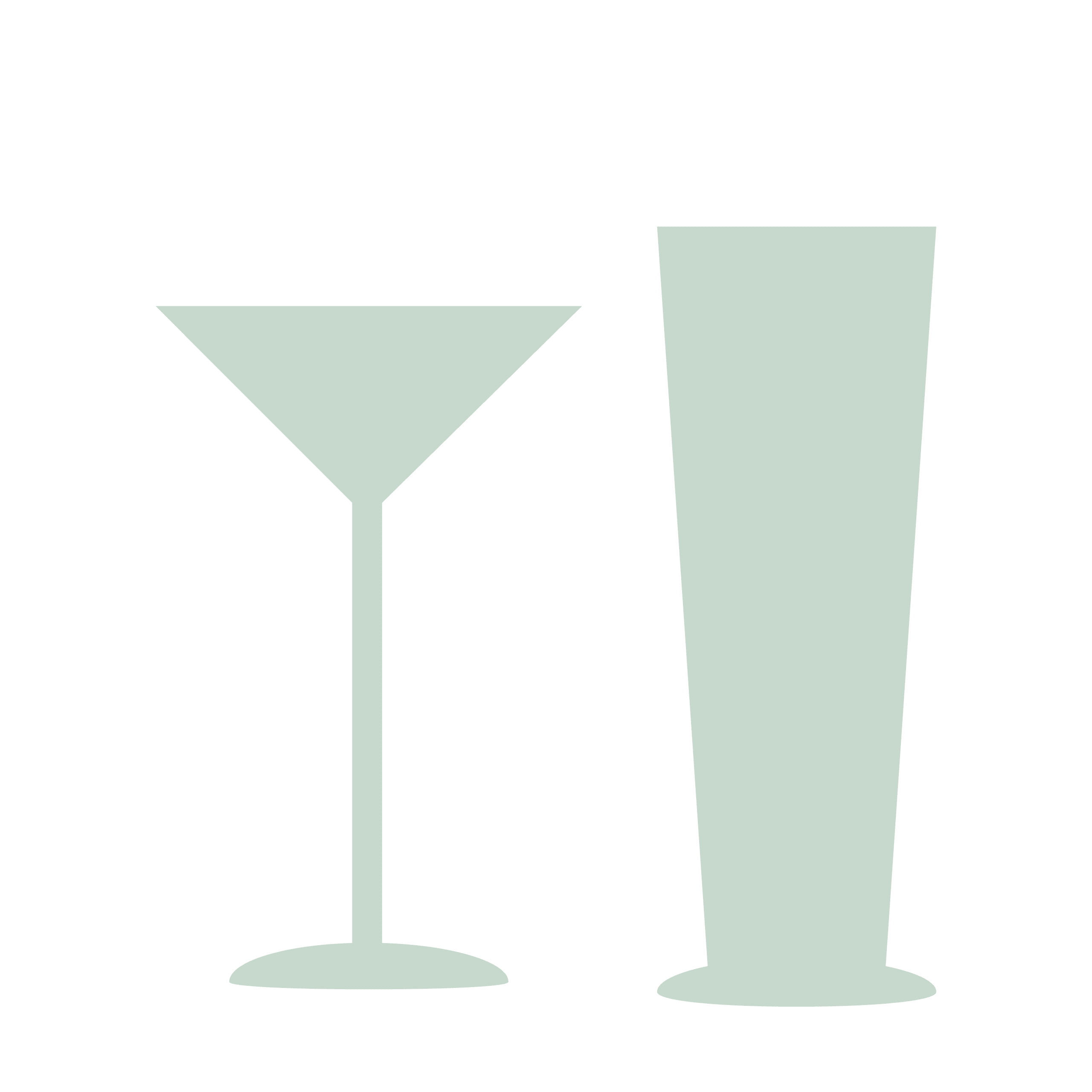 Drinks- og vandglas